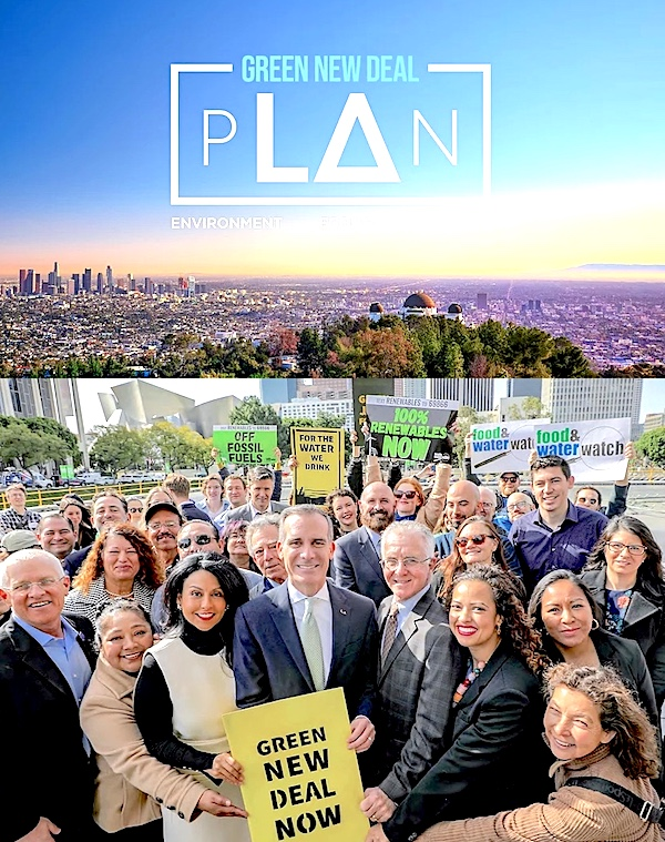Cover page of Los Angeles'  Environment and Energy Plan.