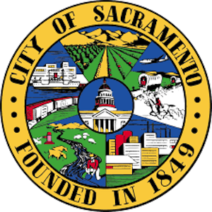 This is the logo of the City of Sacramento. Artwork.