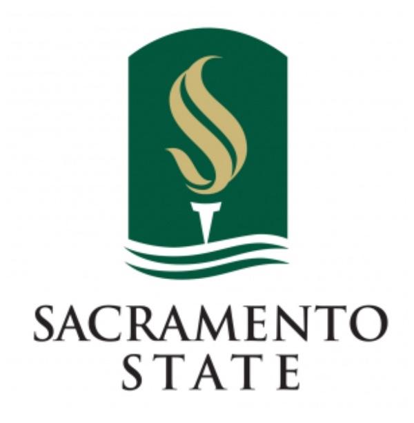 Logo of Sacramento State University. Graphic Art.